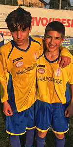 Alessandro Alba e Stefano Granaglia, Carignano under 14