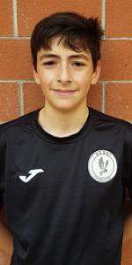 Karol Travo giocatore dell'Acqui under 14