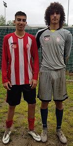 Alessandro Bosio e Carlo Banfi, Carignano Under 17