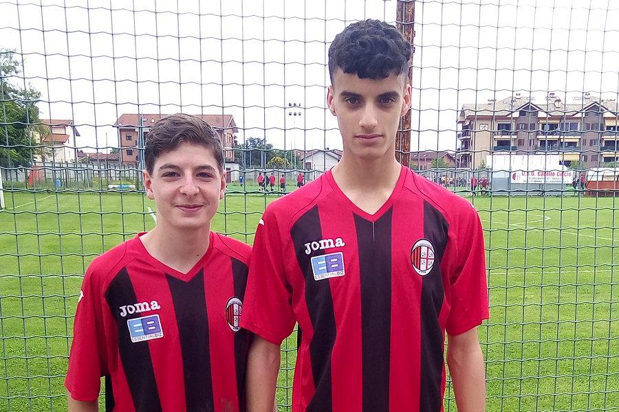 Yasser Najib e Federico Carlicchi Caselle, Under 15