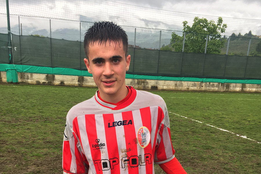 Samuel Anthony Squillace, Olmo Under 16