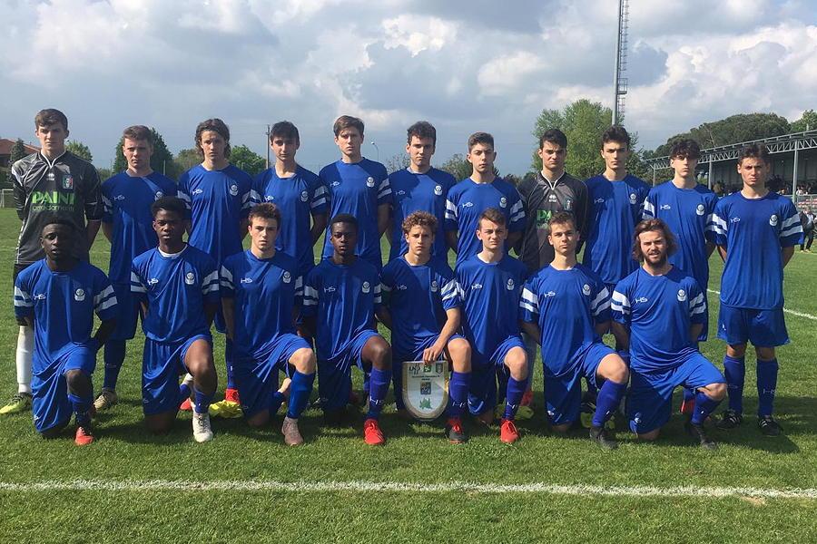 I ragazzi della Rappresentativa Under 17 di Brescia