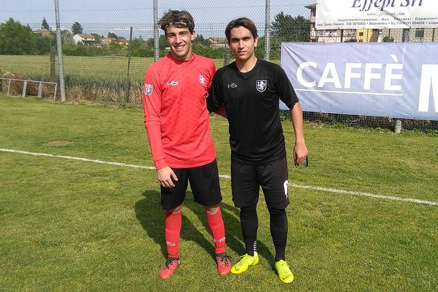 Marco Torre e Tommaso Gugliada del Calcio Derthona