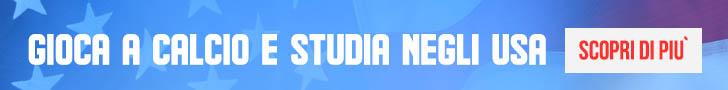 Calcio e studio negli Usa con College Life Italia e SprinteSport