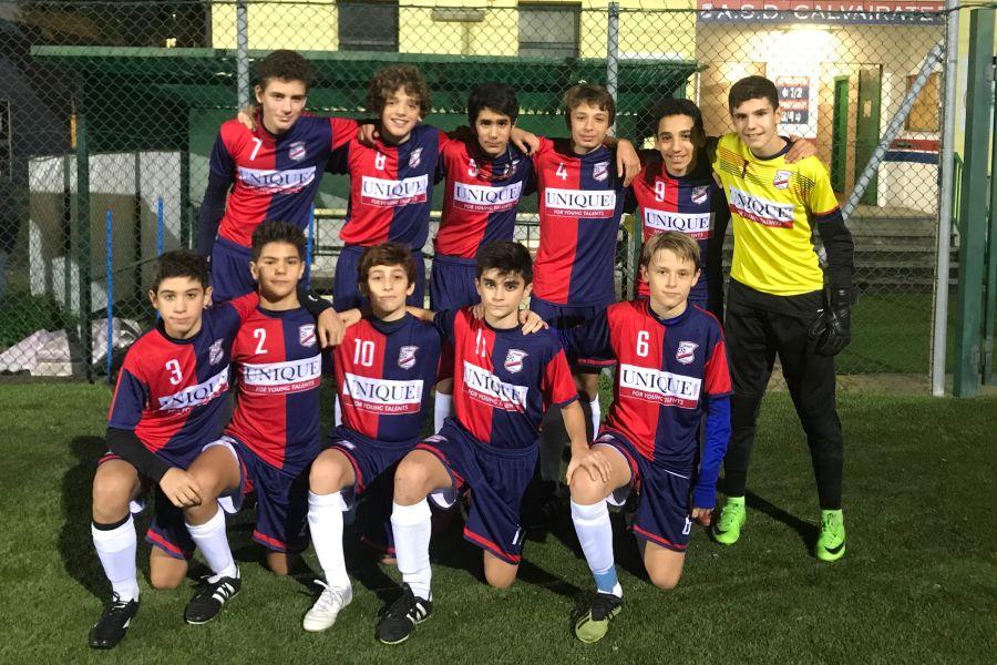 Calvairate-Lombardia Uno Under 14