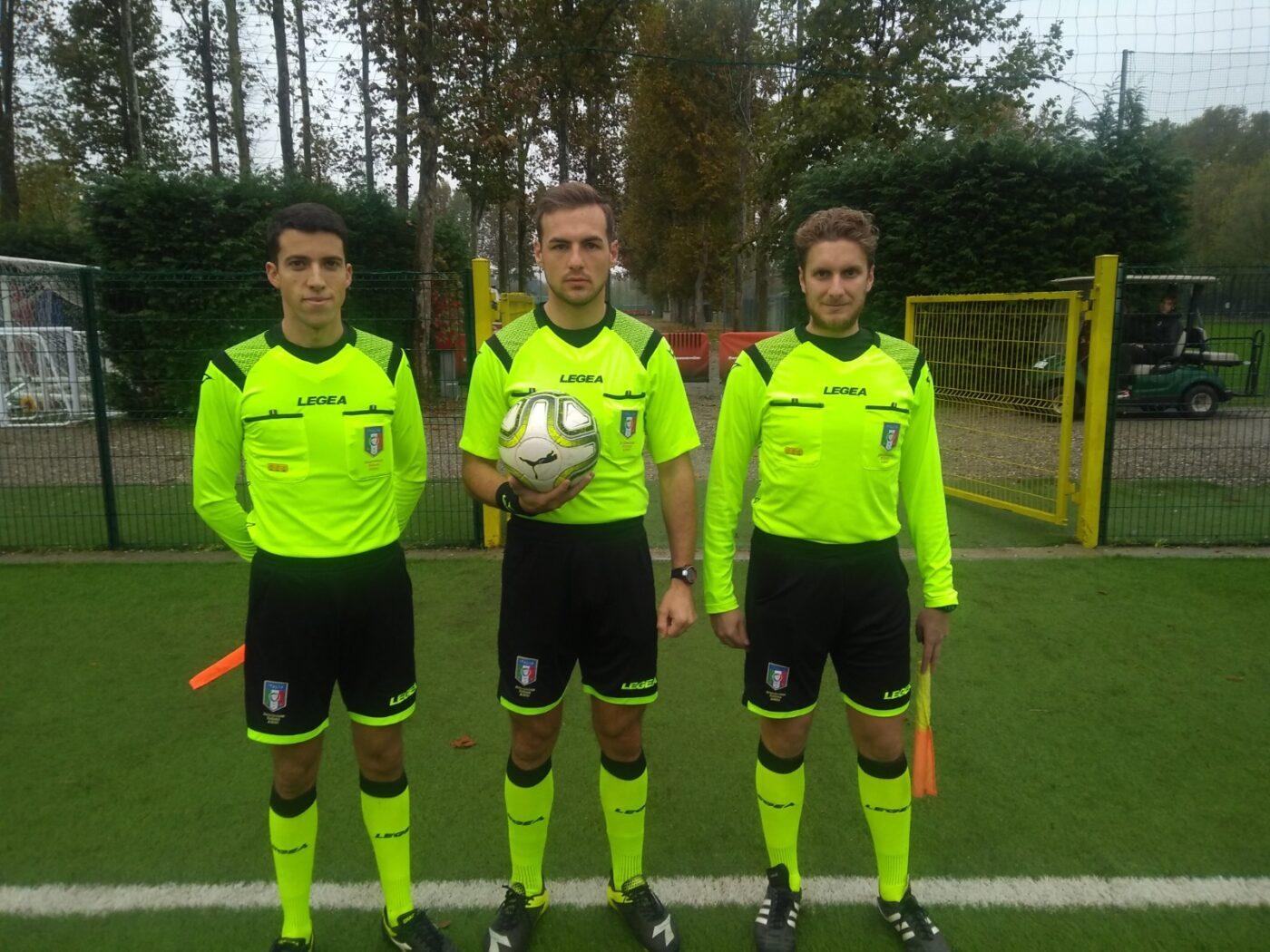 Milan-Spal Under 16 La terna arbitrale