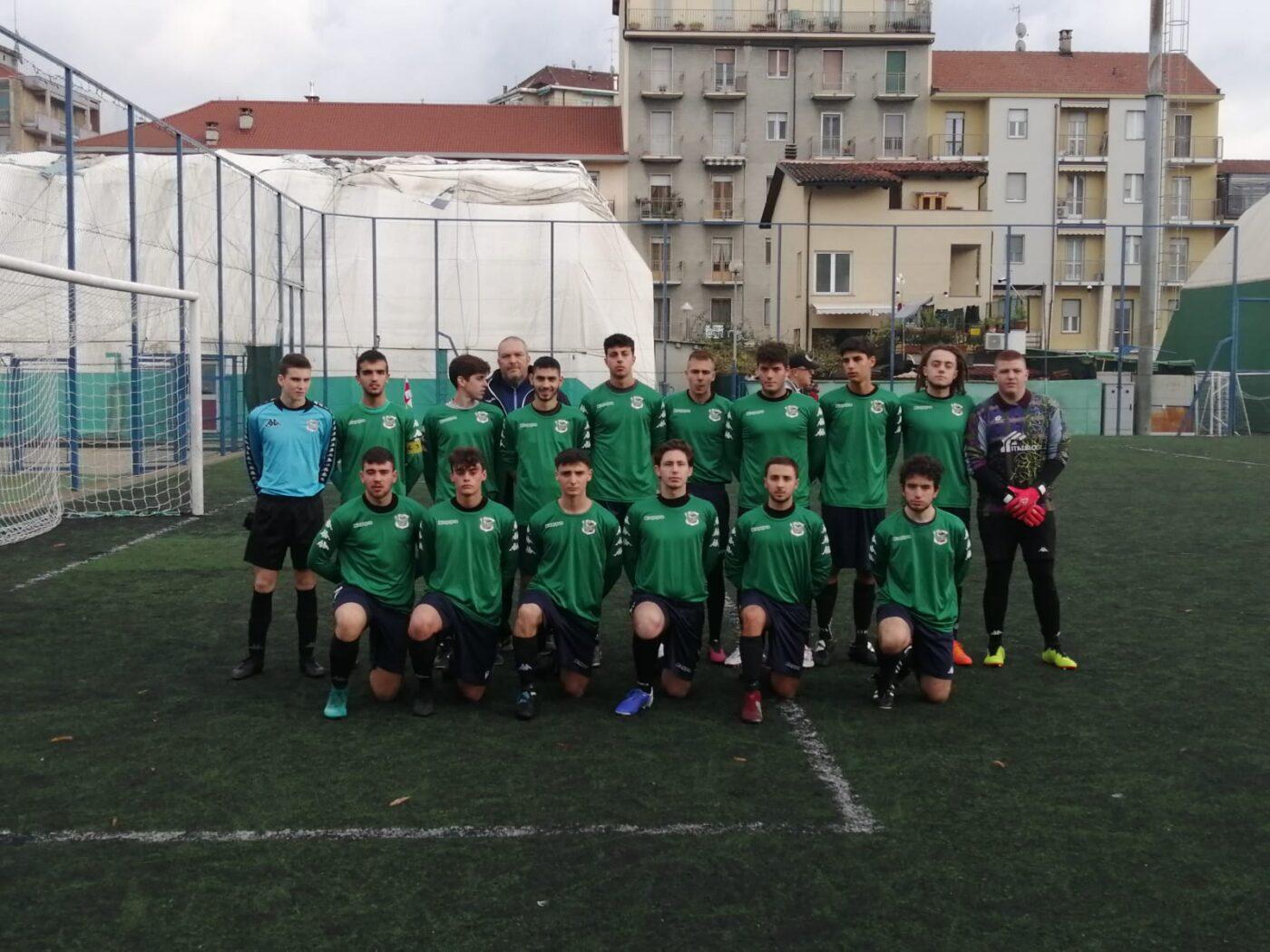 Barracuda - Carrara, Under 19: Il Carrara prima del calcio d'inizio