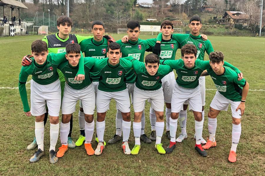 Gozzano - Novara Under 17 - Il Gozzano da battaglia