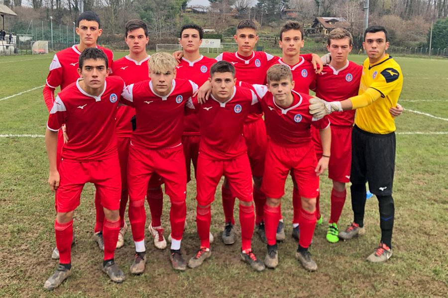 Gozzano - Novara Under 17 - Il Novara Campione d'Inverno e imbattuto