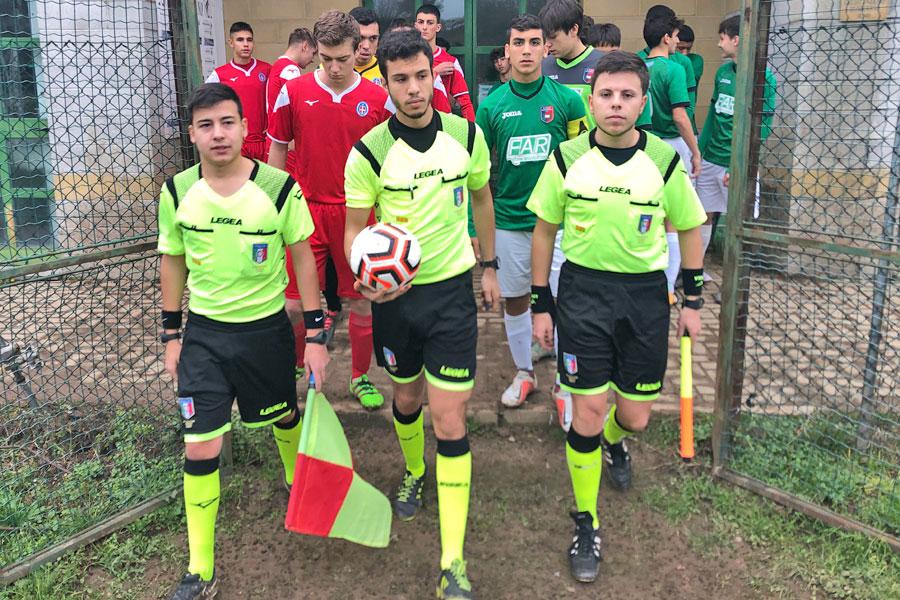 Gozzano - Novara Under 17 - La terna arbitrale
