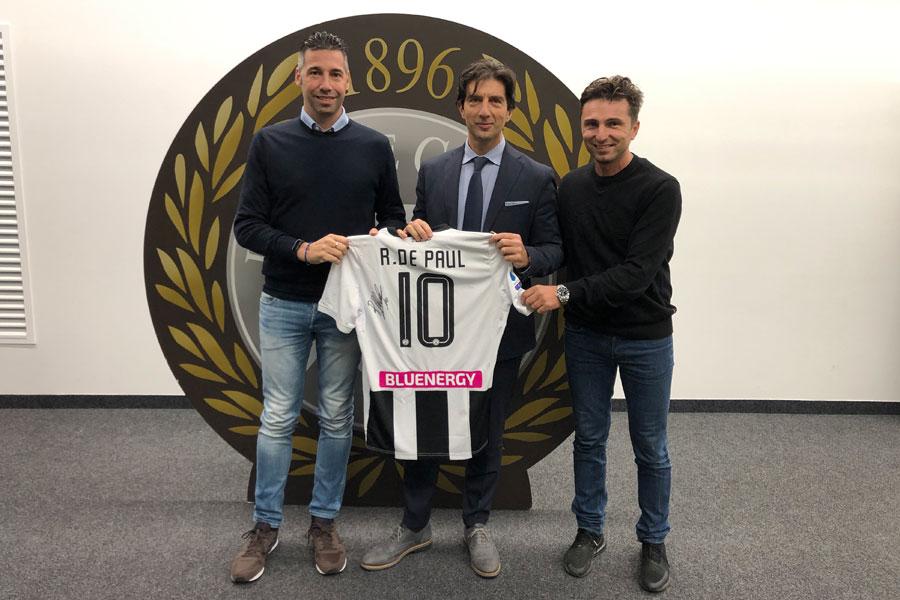 Udinese Calcio e Limonta Sport: per due stagioni insieme!
