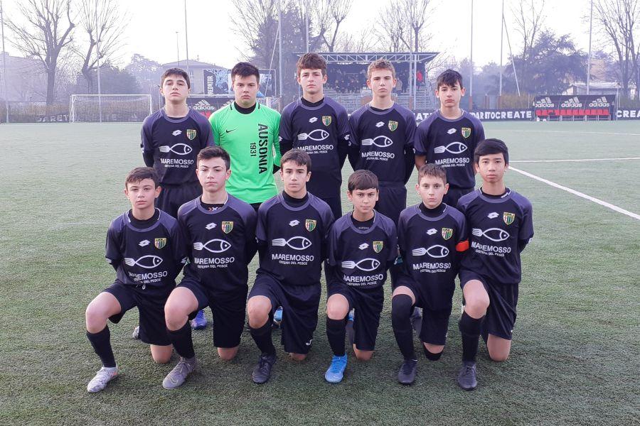 Masseroni-Ausonia Under 14 Regionali
