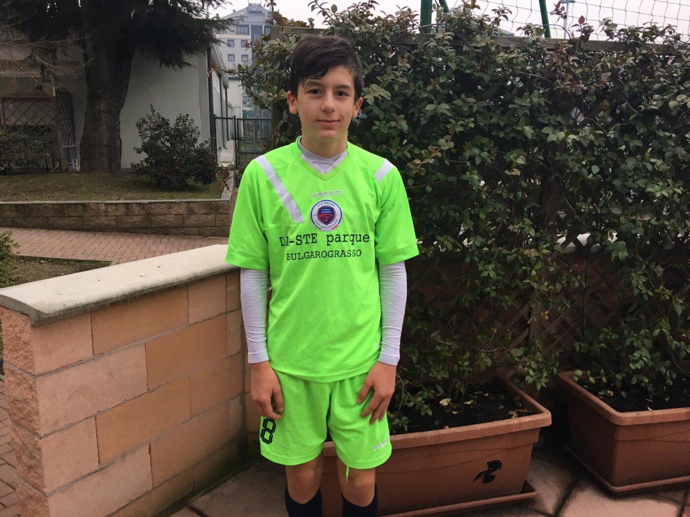 Bulgaro Under 14, Riccaboni Leonardo