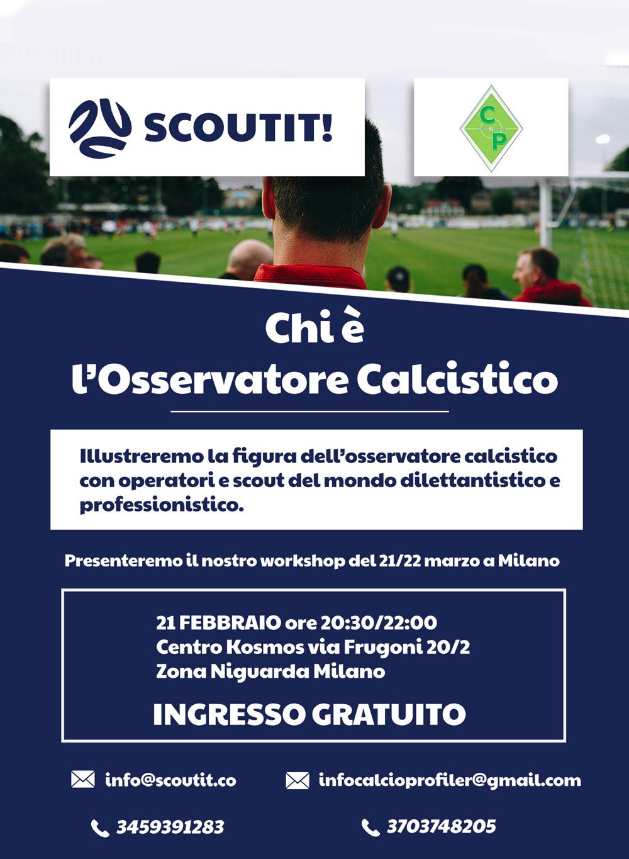 Scoutit - Osservatore Calcistico