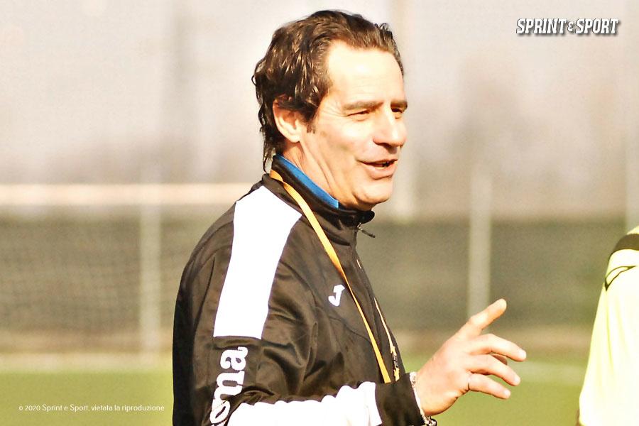 Fabio Bolzoni, allenatore Accademia Verbania Under 15