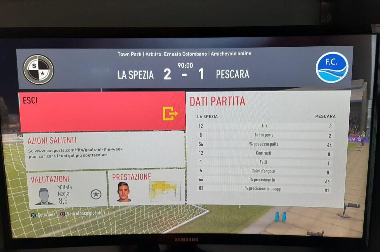 FIFA SPRINT ESPORT PIEMONTE SPE - PES