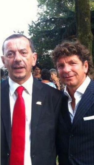 Vitantinio Zaza (a destra) insieme al compianto fratello Aldo