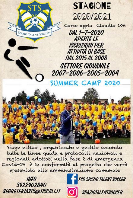Spazio Talent Soccer 2020-2021