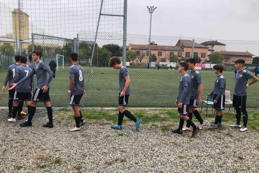 Pro Vercelli-Alessandria - Under 17: L'ingresso Alessandria