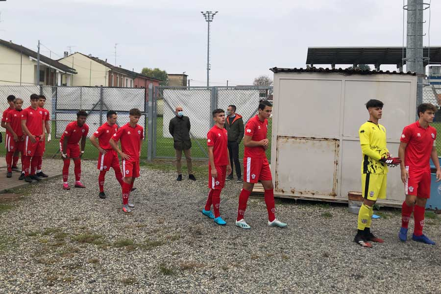 Pro Vercelli-Alessandria - Under 17: L'ingresso della Pro
