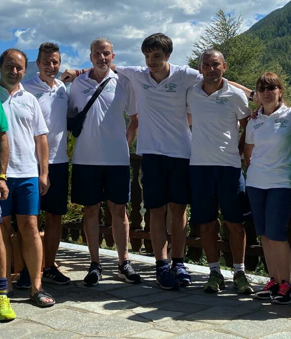 Corrado Chiabrero, Roberto Marchisano, Daniele Gerbaudo, Bruno Trombotto, Luisella Paschetta