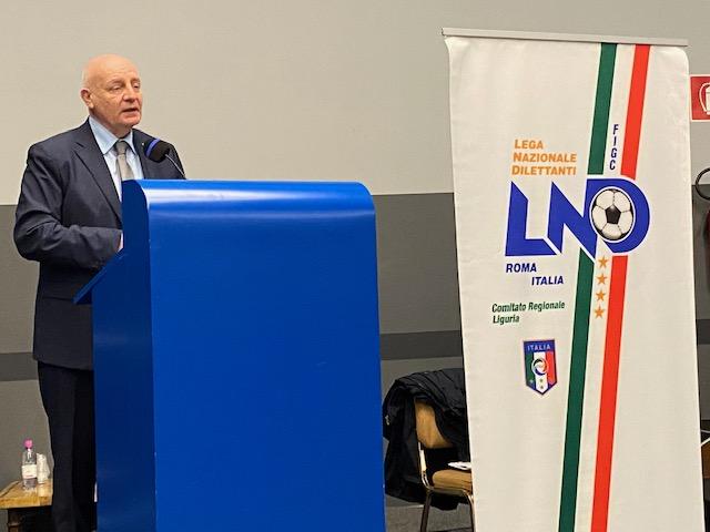 Giulio Ivaldi Presidente CR Liguria