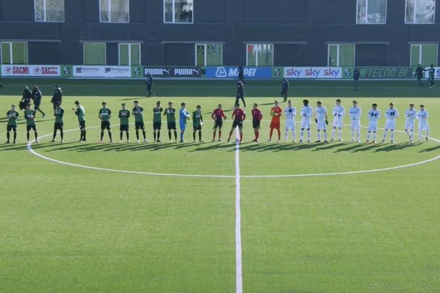 Sassuolo-Inter Primavera 1: l'ingresso in campo