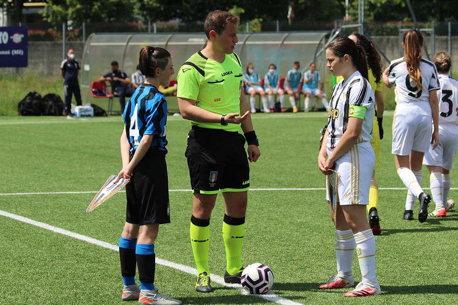 Inter-Juventus Under 15 Femminile: il sorteggio