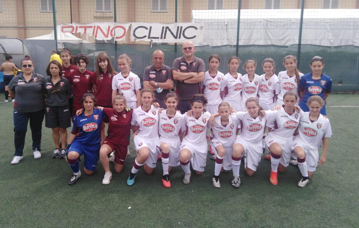 Il Torino Under 12 al gran completo