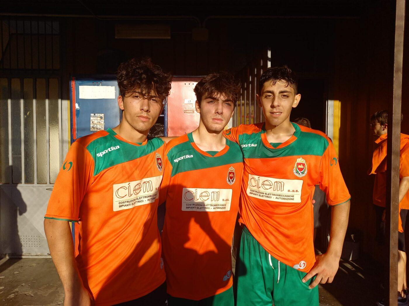 Venaria U19 - Granata, Cuccaro e Cesarano