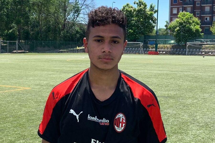 Wali Ahmed Yasser, attaccante Lombardia Uno Under 17